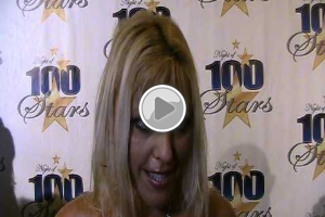 Aza former Miss Ukraine at Night Of 100 Stars Oscar Party